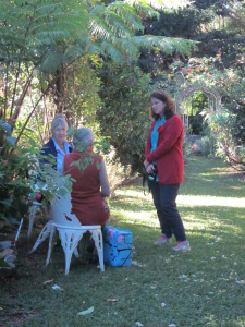 open garden ANZAC weeknd