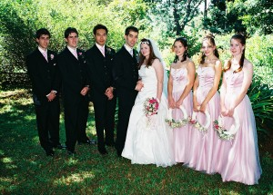 Christina and Tysons Wedding 2006.